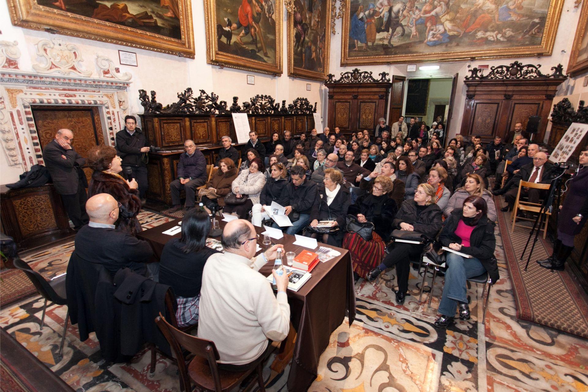 Conferenza presso la chiesa di san Michele a Cagliari