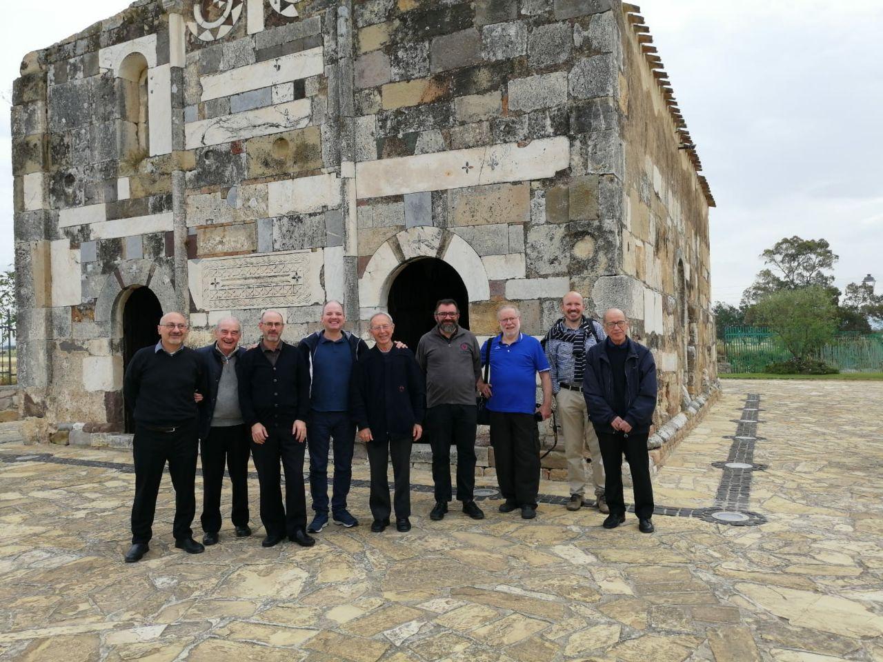 Comunità dei gesuiti in gita