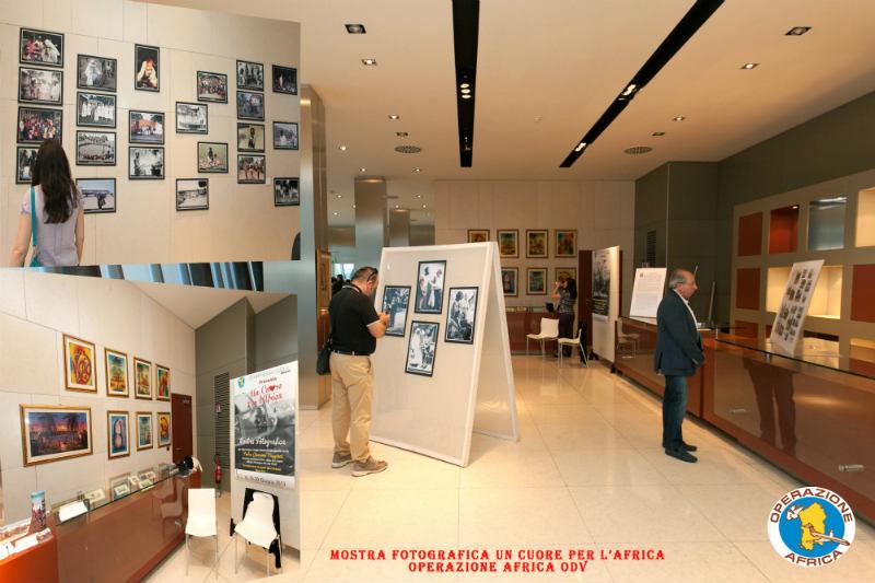 Mostra organizzata dall'associazione Operazione Africa presso la chiesa di san Michele a Cagliari