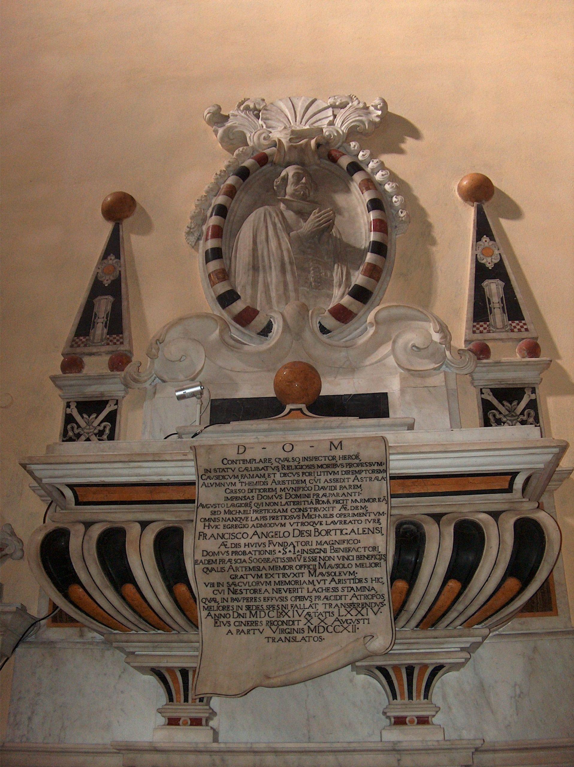monumento funebre in marmo di Francesco Angelo Dessì